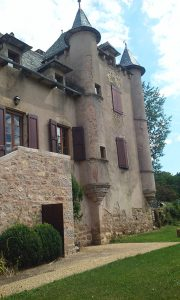 Small Chateau outside Estaing